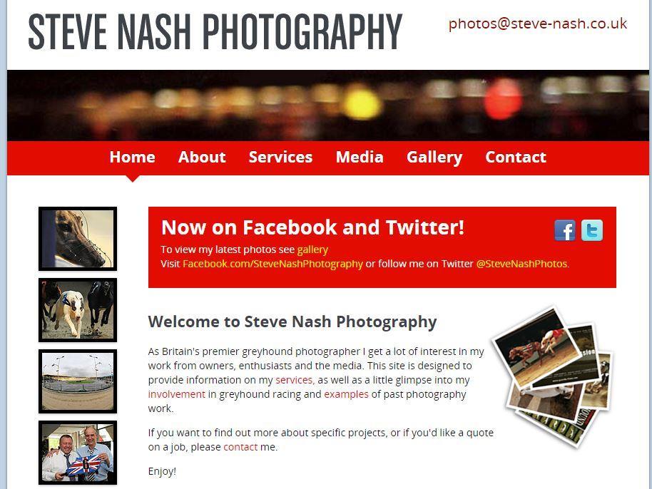 Steve Nash Photography Web Site